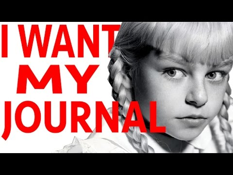 JOURNAL - 2 Girls 1 Quick Look: Pretentious 8 Year Old
