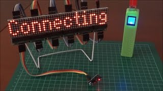 ESP8266 Internet Clock, Weather Station and Information Display