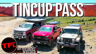 Almost ROLLED It! Can The Ford F-250 Keep Up With The Jeep & Chevy? No Pavement Needed Ep.5