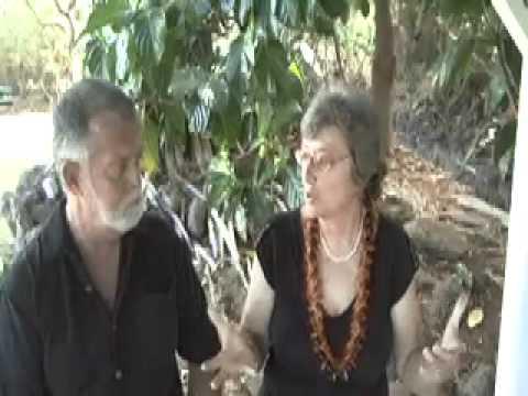 Up Close 2008 Jason Schwartz with Maui Political Candidate LucienneDeNaie