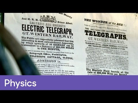 The invention of the telegraph by Cooke and Wheatstone | Physics - The Genius of Invention