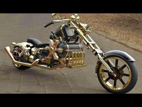 😵 Мотоциклы - СтимПанк (Steampunk) 🚂!