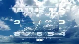 Часы Первого Канала Реверс Вечерняя Версия (2011-н.в)