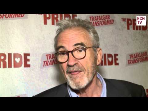 Larry Lamb Interview The Pride Opening Night