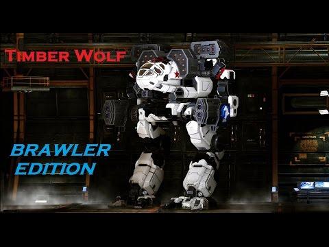 [MechWarrior Online] TIMBER WOLF Gameplay BRAWLER Edition