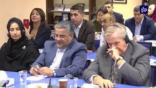 جلسة حواية في ملتقى طلال أبو غزالة حول  تحديات القطاع الصناعي - (3-10-2017)