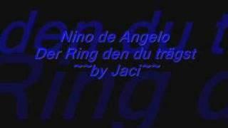 nino de angelo der ring den du trägst