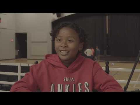 10yrs old playing High School JV Basketball at Lake Norman Christian School