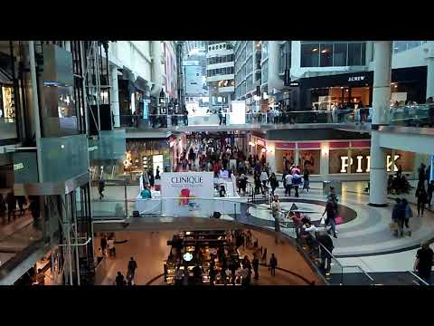 Toronto Eaton Centre Most Recent HD Video