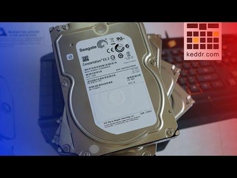 Восстановление данных с жесткого диска (HDD)