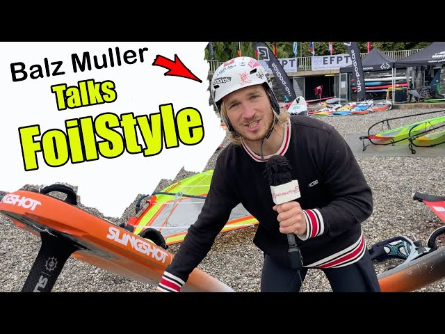 Whats going on in FoilStyle? - Balz Muller