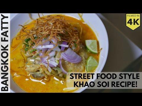 Thai Street Food Inspired Khao Soi Recipe!