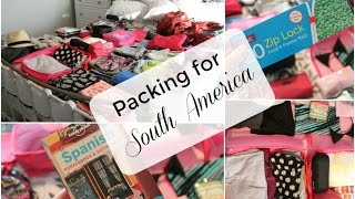 Packing for South America: Peru, Chile, Argentina | Tink Jayne