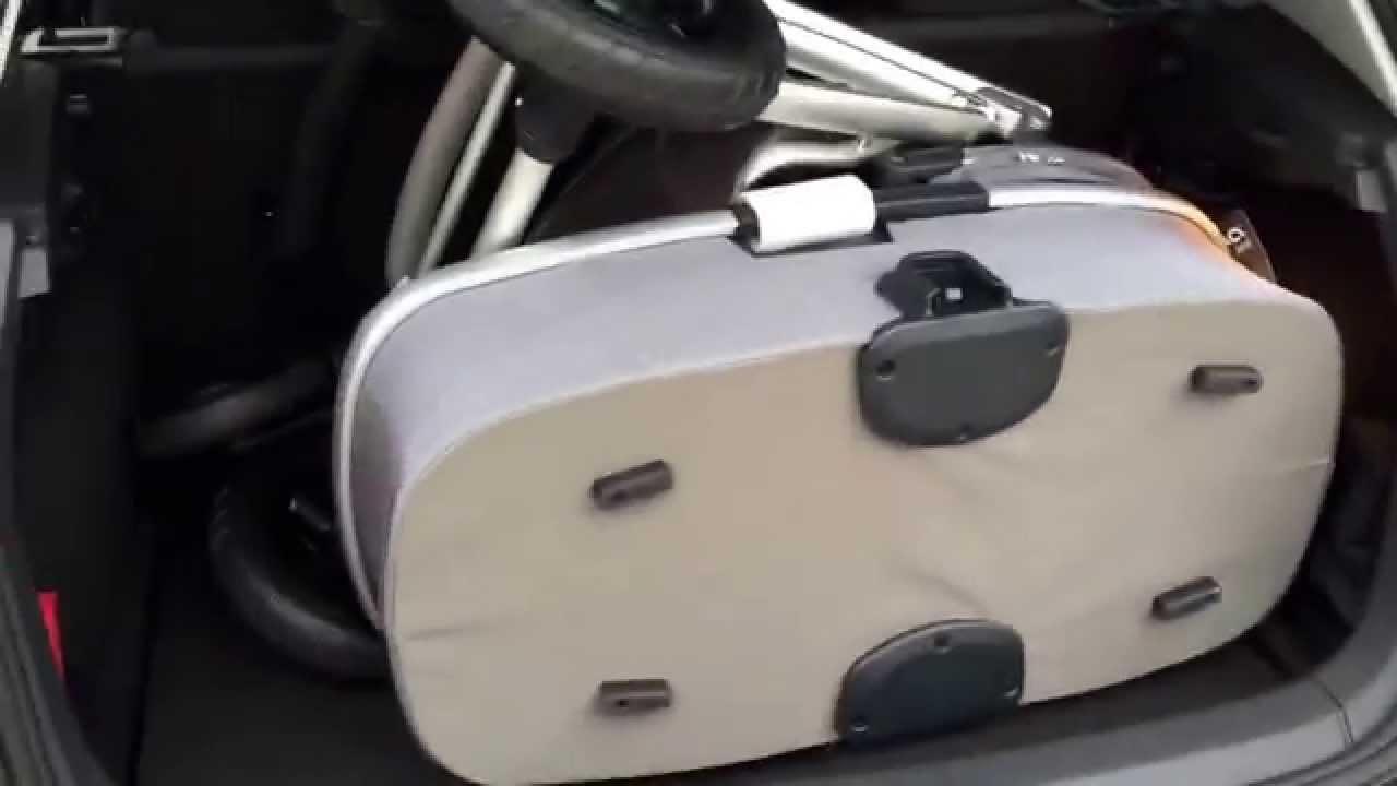 nuna ivvi in golf vii 7 test kofferraum kinderwagen. Black Bedroom Furniture Sets. Home Design Ideas