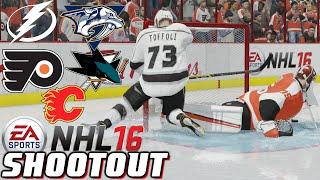 Shootout Marathon - NHL 16 - Shootout Commentary ep. 5
