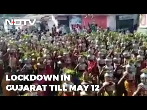Video: Devotees Defy Curbs To Gather At Gujarat Temple Amid Covid Surge