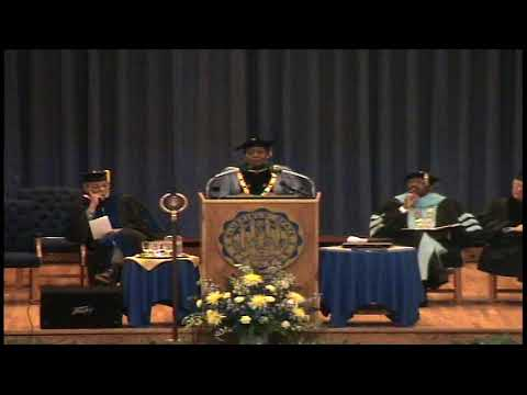 Dr. Yvonne S. Thornton, M.D. -- Bluefield State College Commencement -- May 14, 2005