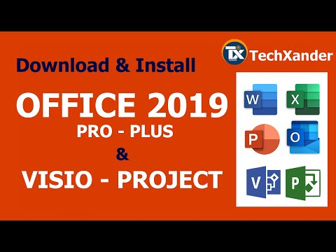 Office 2019 ProPlus + VISIO + PROJECT | Download & Install | Custom