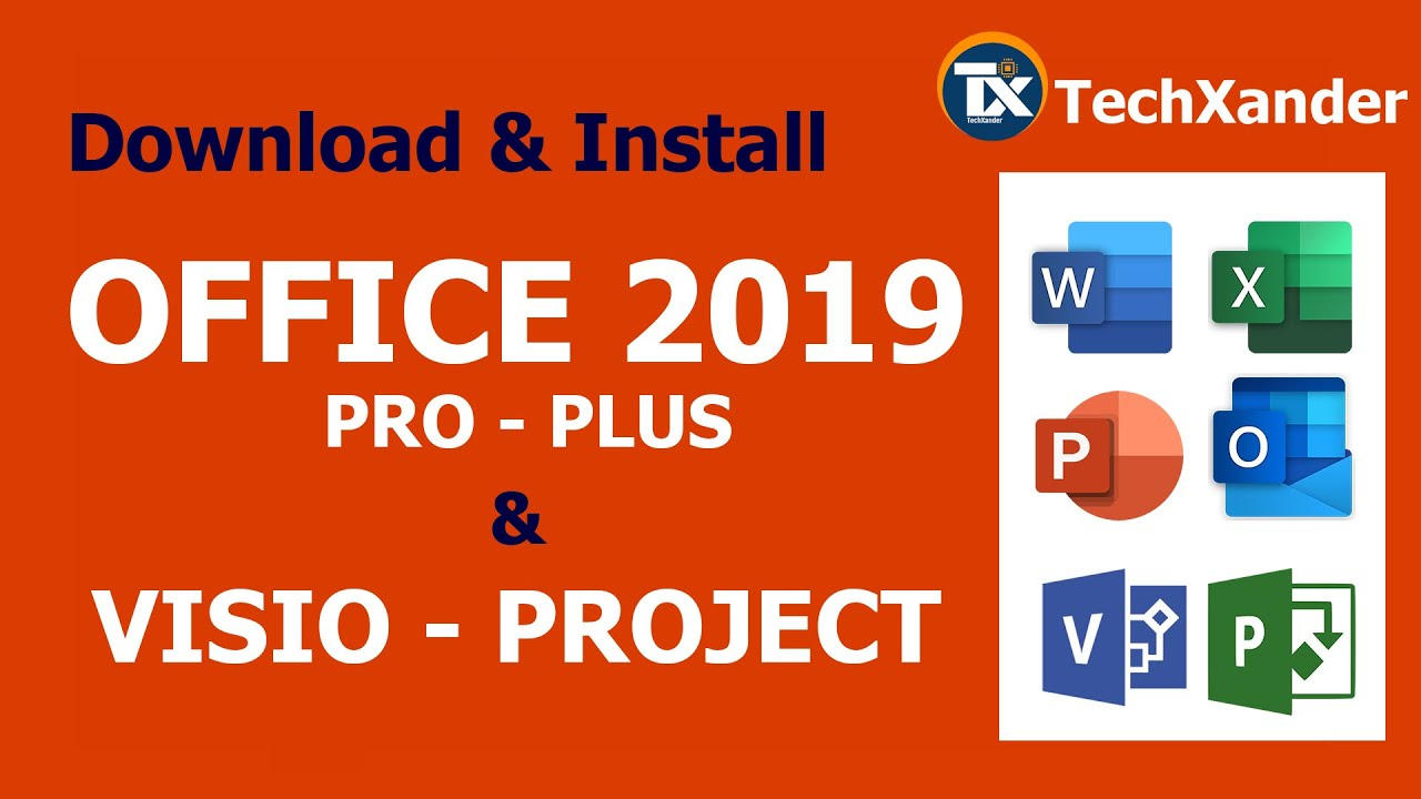 Office 2019 ProPlus + VISIO + PROJECT | Download & Install | Custom  Installation
