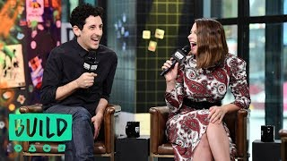 Katie Lowes & Adam Shapiro Gush About Joining The Broadway Community