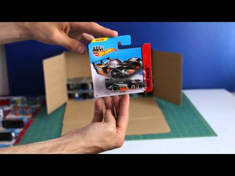 Unboxing Hot Wheels Basic Car 50-pack