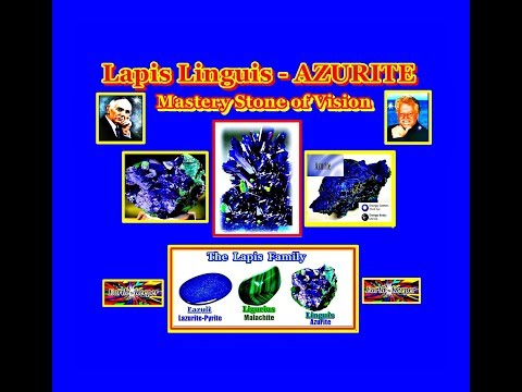 Why Crystalline Azurite (Lapis Linguis) Is the Mastery Stone of Vision