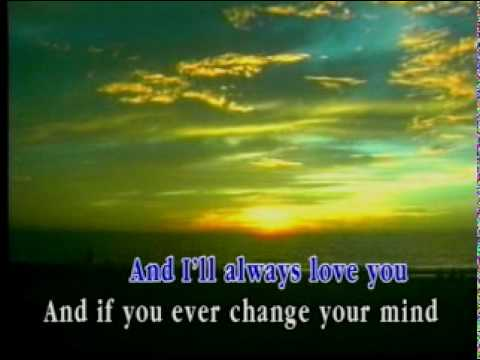 Karaoke I Will Always Love You - Video with Lyrics ...