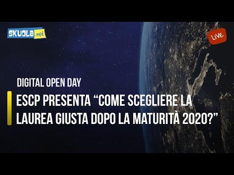 Digital Open Day con ESCP: Come scegliere la laurea giusta dopo la Maturità 2020?