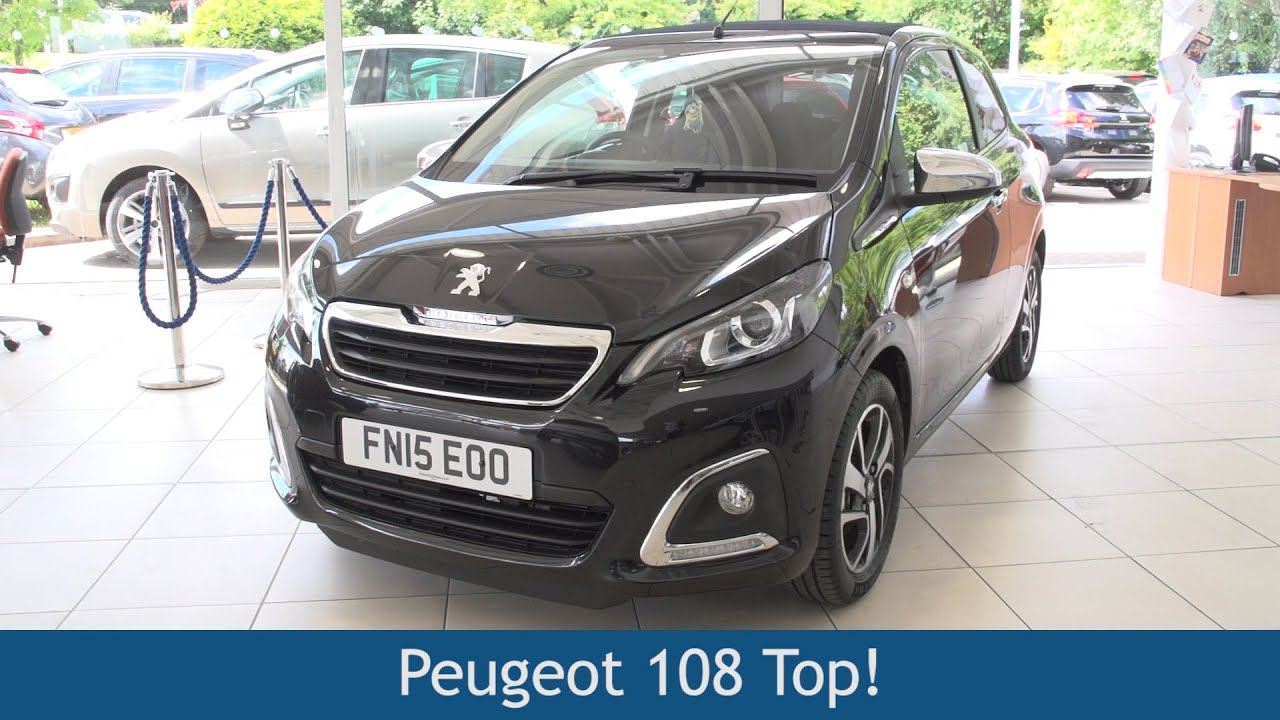 Peugeot 108 Top 2015 Review Youtube