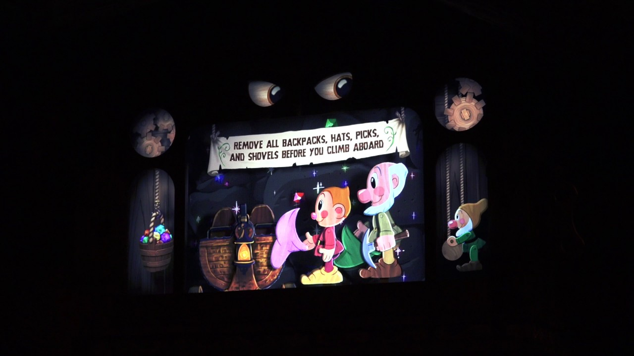 NEW Seven Dwarfs Mine Train Roller Coaster Pre-Show Video - The Magic  Kingdom, Walt Disney World