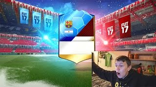 THE BEST PACK ON FIFA 17!!! - (FIFA 17 Pack Opening)