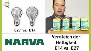 NARVA Halogenlampen als energiesparender Ersatz für die klassische Glühbirne [watt24-Video Nr. 129]