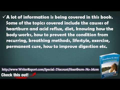 Jeff Martin Heartburn No More Review – Is Heartburn No More Any Good
