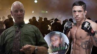 Michael Brown Alleged Audiotape, Dan Page Video + War Machine vs. Christy Mack on Twitter