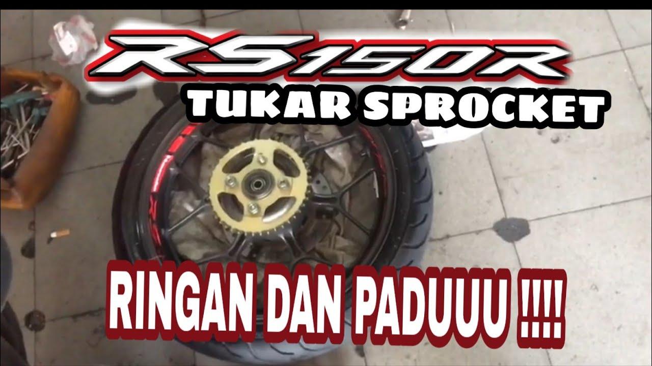 TUKAR SPROCKET STYLE | RS150R
