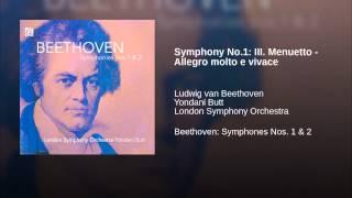 Symphony No.1: III. Menuetto - Allegro molto e vivace