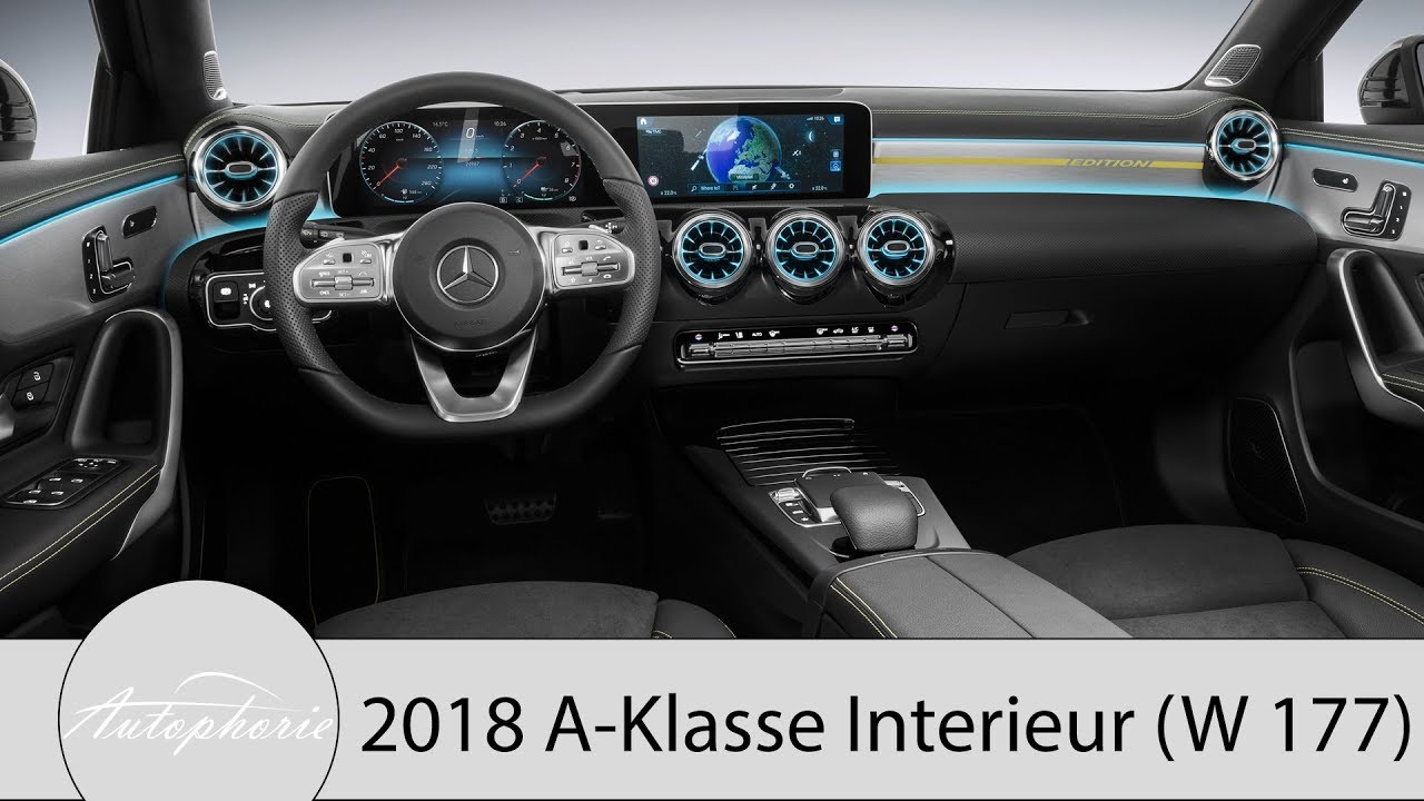 2018 Mercedes-Benz A-Klasse (W177): das neue Interieur im Fokus plus ...