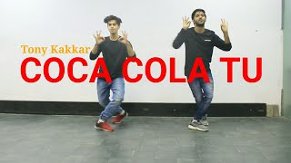 Coca Cola Tu - Tony Kakkar Dance Cover | Vicky Dubey Choreography | DXB Dance Studio