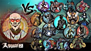 Shadow Fight 2 Legendary Sensei Vs All Bosses