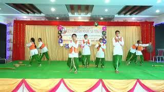 Maharishi Vidya Mandir School | Regional Cultural Celebration | Patriotic Dance Performance|