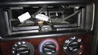 Снятие центральной консоли Honda Civic VI fastback