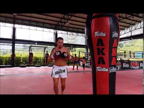 My AKA Training In Thailand