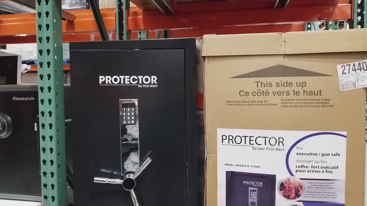 Protector Safe by First Alert from Costco