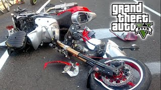 Car Crash Compilation 2016 | Accidentes de Carros Coches y vehículos | slow motion | GTA 5