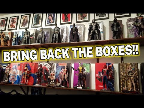 BRING BACK THE BOXES!! HOT TOYS FIGURE DISPLAY