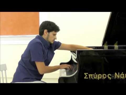 Poros Piano Academy 2016 - Greek Contemporary Music - Konstantinos Destounis