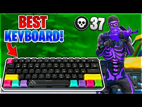 The BEST Keyboard For Fortnite! (Best 60% Gaming Keyboard)