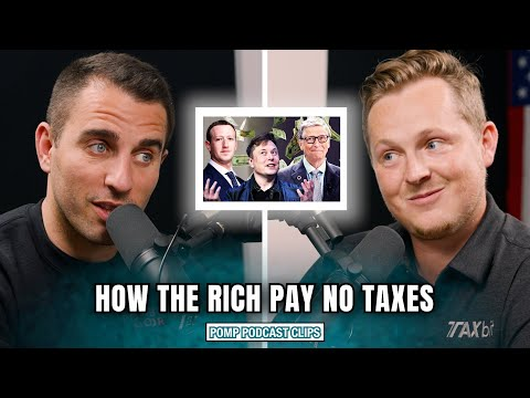 How The Rich Avoid Paying Crypto Taxes | Pomp Podcast CLIPS