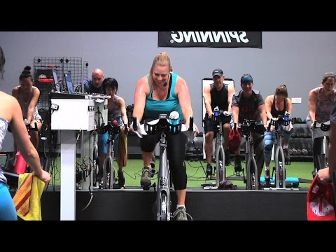 Fitness center offers new spinning class for lunchtime workouts.