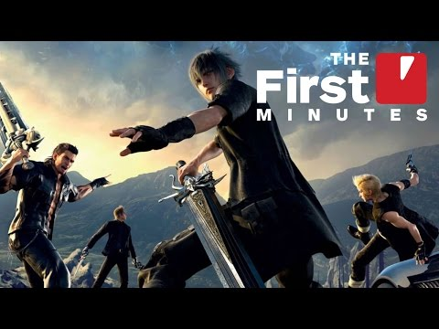 The First 15 Minutes of Final Fantasy XV